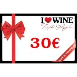 Geschenk Karte 30€