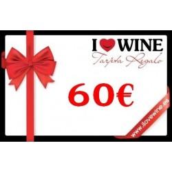 Geschenk Karte 60€