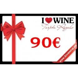 Geschenk Karte 90€