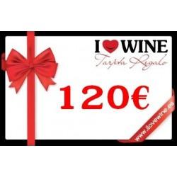 Geschenk Karte 120€