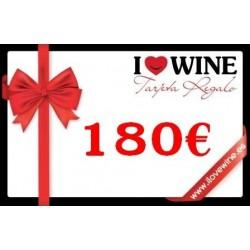 Tarjeta Regalo 180€